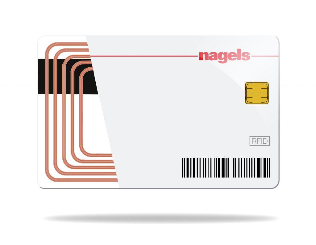 Hybride kaarten nagels